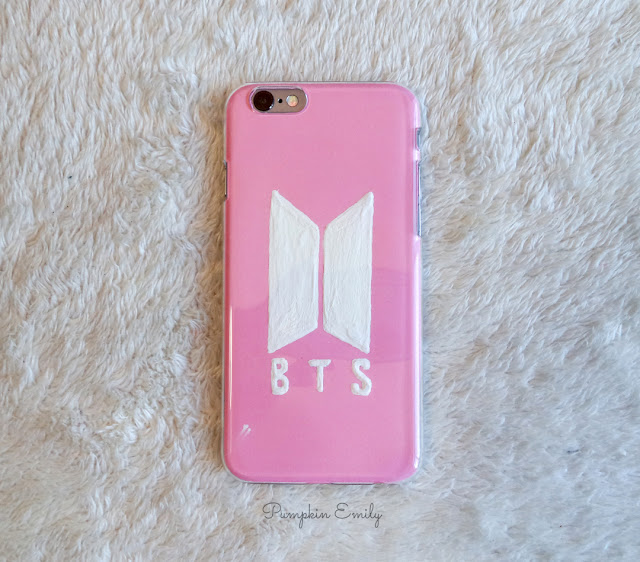 Easy DIY BTS Phone Case