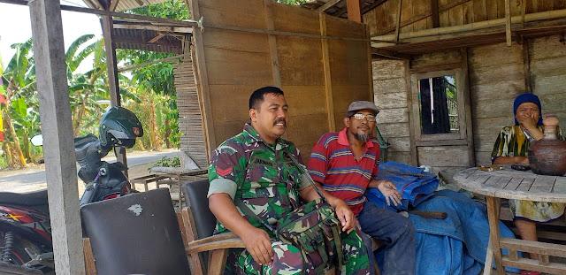Babinsa Kendal Doyong Himbau Warga Jaga Kebersihan Lingkungan