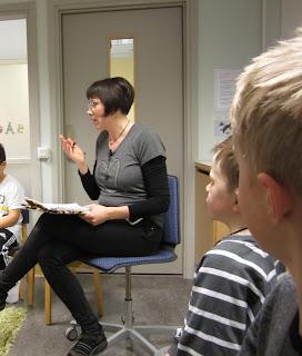 sångberättelse lågstadiet hagaskolans bibliotek