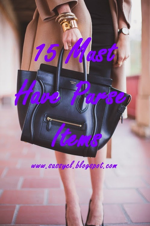 15 Must Have Purse Items