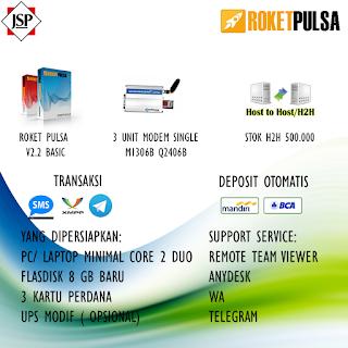 Jasa Server Pulsa Manado