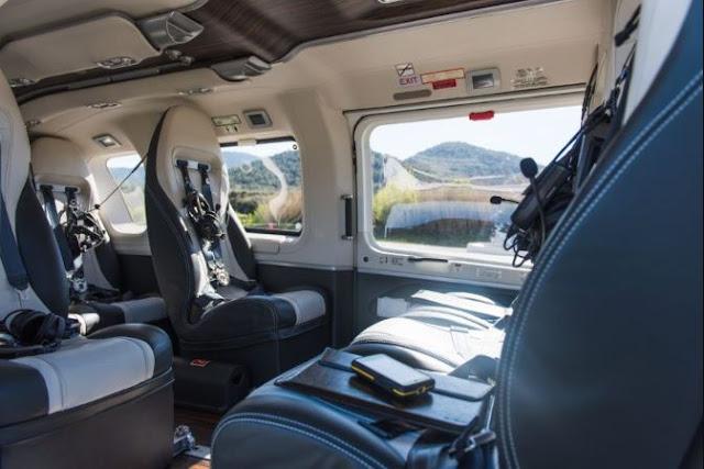 Airbus H145 interior