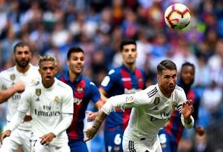 موعد مباراة ريال مدريد وليفانتي اليوم السبت بتاريخ 30-01-2021 الدوري الاسباني والقنوات الناقلة