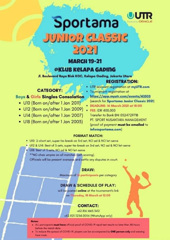 Sportama Junior Classic 2021