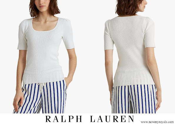 Kate Middleton wore Ralph Lauren Nadalia Top