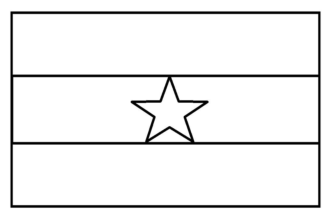 mewarnai gambar mewarnai gambar sketsa bendera negara ghana mewarnai gambar sketsa bendera negara ghana