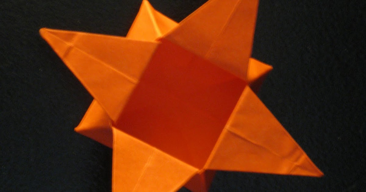Origami Pointed Star How To Make A Paper Pointed Ninja Star ... | 630x1200