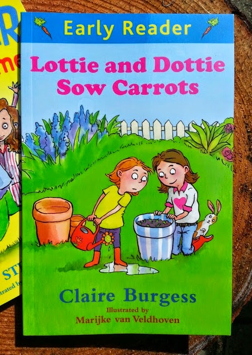 Lottie and Dottie Sow Carrots Early Reader Orion Books Review