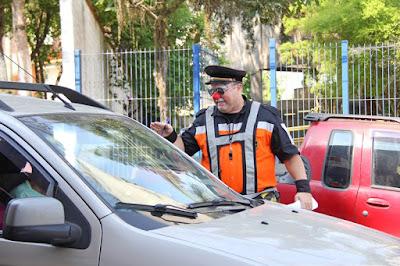 Agente Paxola faz sucesso na Semana do Trânsito em Registro-SP