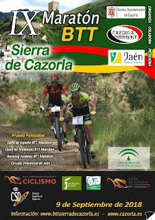 IX Maratón BTT Sierra de Cazorla