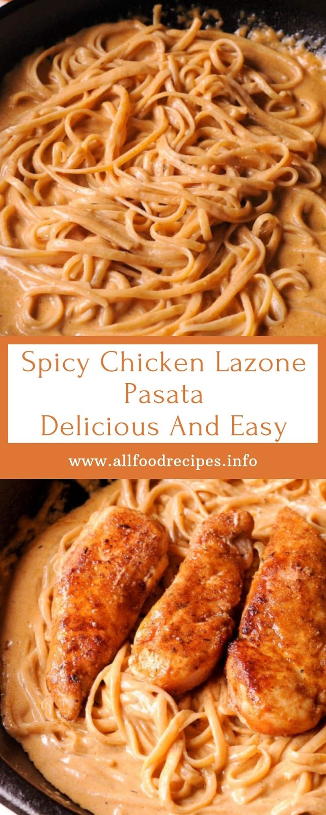 Spicy Chicken Lazone Pasata Delicious And Easy