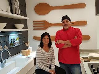 Chefs Marco Donato e Lucia Gagliasso farão um workshop gastronômico no Kitchens na Barra