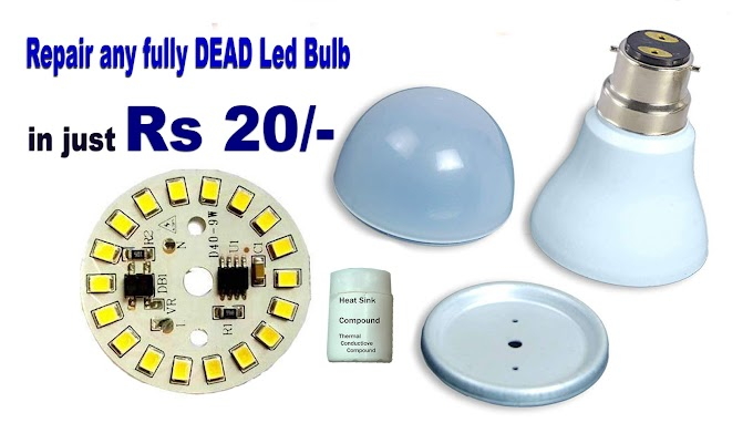 Led Bulb Rs 20 - Reuse Dead Led Light Bulbs - Low cost led bulb