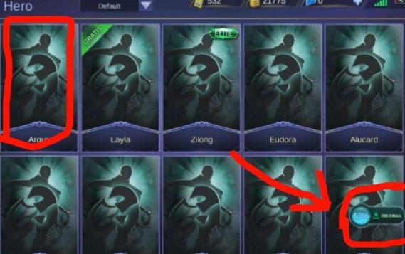 alasan hero di Mobile Legends tidak terlihat