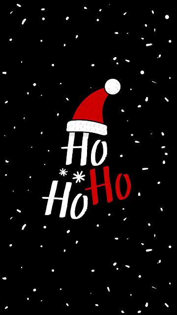 ho ho ho christmas wallpaper