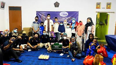 SMSI Kabupaten Tangerang Bukber dan beri santunan