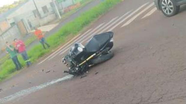 Motociclista morre ao se envolver em batida com ônibus em Cascavel