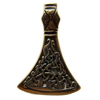 купить кулон секира бронзовые мужские подвески подарок мужу