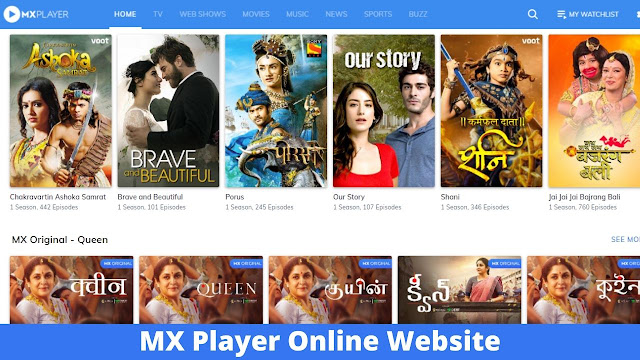 mx player online for pc