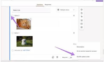 كيفية, السماح, بتحميل, الصور, كإجابات, في, نماذج, جوجل