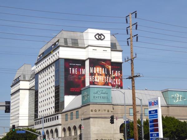Henrietta Lacks giant movie billboard
