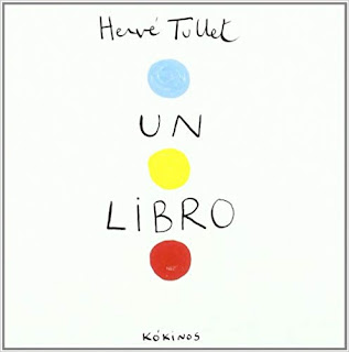 «Un libro» de Hervé Tullet