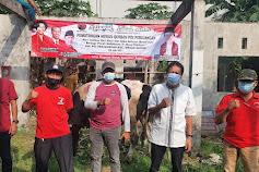 PDIP Kota Bekasi Tebar Hewan Qurban 12 Ekor Sapi di Masa PPKM