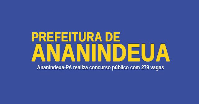 Concurso 2020 da Prefeitura de Ananindeua - PA