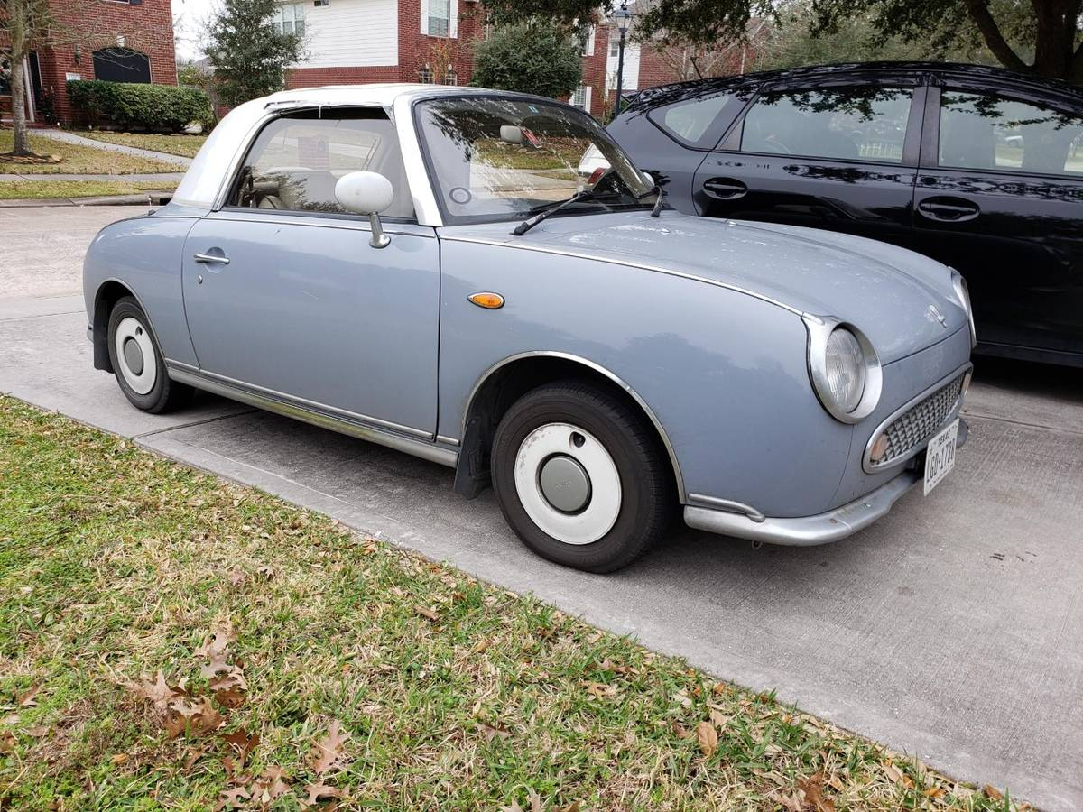 Narcotizing Waft of Affordability: 1991 Nissan Figaro