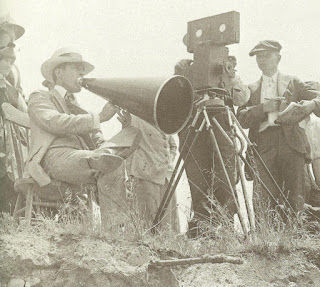 El director D.W. Griffith