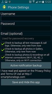 Cara Pasang SMARTPHONE LOGS apk di Android