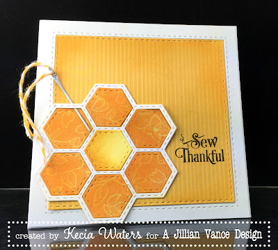A Jillian Vance Design, Kecia Waters, hexagon, quilt