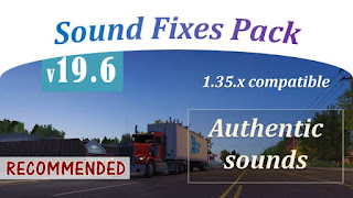sound fixes pack v19.6 for ETS 2 & ATS