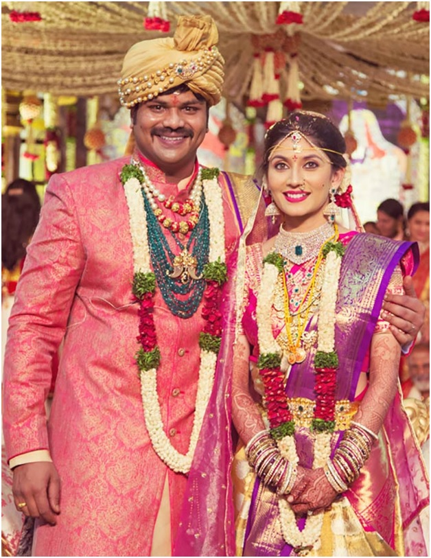 Extravagant Wedding Of Manoj And Pranathi | Indian Celebrity