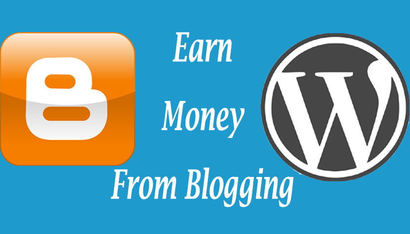 Earn money online from blogging