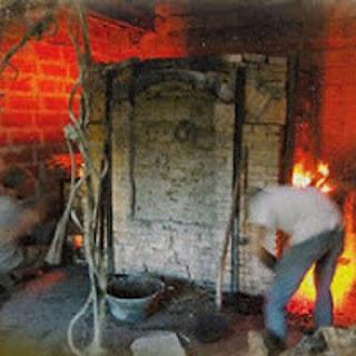 four sèvre, cuisson du grès, poterir, jpeg