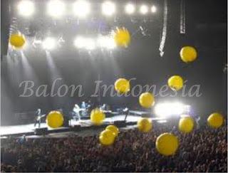 Berbagai jenis ukuran balon drop telah kami pasang untuk berbagai event
