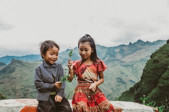 Visit Ha Giang season of ripe rice, contemplate the idyllic life 5