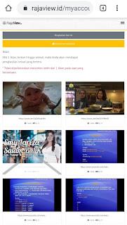 Nonton Video YouTube di RajaView Bisa Dapat Uang Tambahan