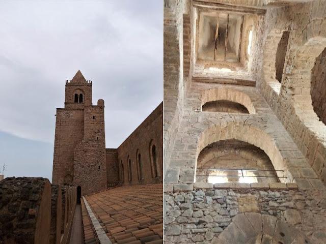 camminamento e torre sud del duomo cefalù