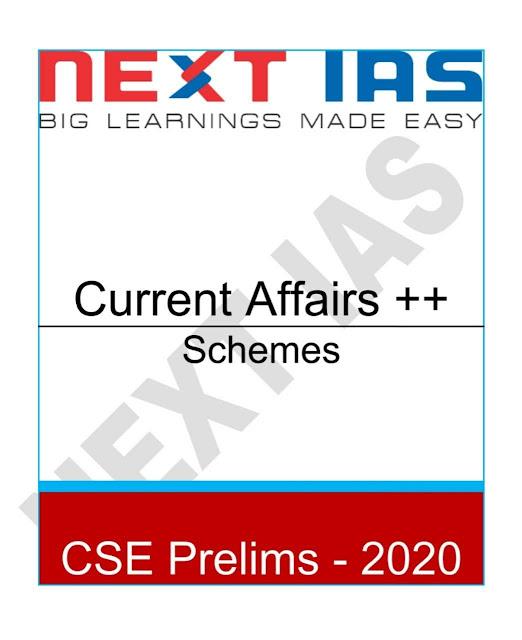 Current Affairs Schemes : For IAS Exam PDF Book