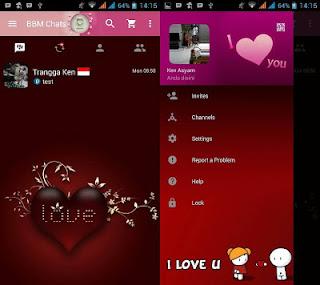 Download BBM MOD Love v3.0.0.18 apk
