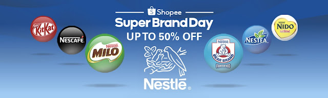 Shopee Super Brandday Nestle