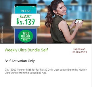 Telenor Data Bundle