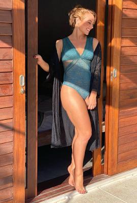 Paolla Oliveira surge só de lingerie e declara: Livre e solta