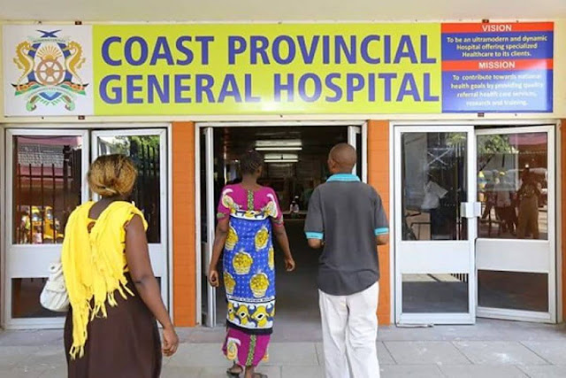 Coast General and referral hospital in Mombasa. PHOTO | BMS