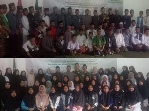 Resmi Dibaiat, 70 Pelajar NU Parongpong Siap Berkhidmat Bela Agama dan Bangsa