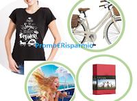 Logo Concorso Pera Angelys ''PerVinci'': in palio 91 T-shirt, crociera, weekend per la famiglia e bicicletta