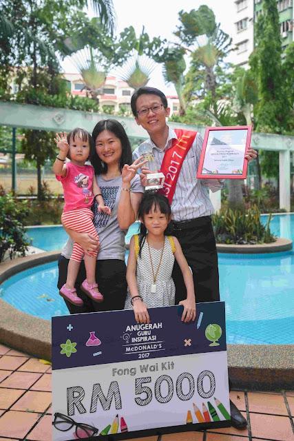Guruku, Inspirasiku - McDonald's menghargai jasa guru-guru di Malaysia menerusi Anugerah Guru Inspirasi McDonald's