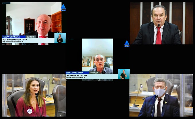 Diária operacional, Agosto Lilás e pleitos dos parlamentares marcam horário dos deputados